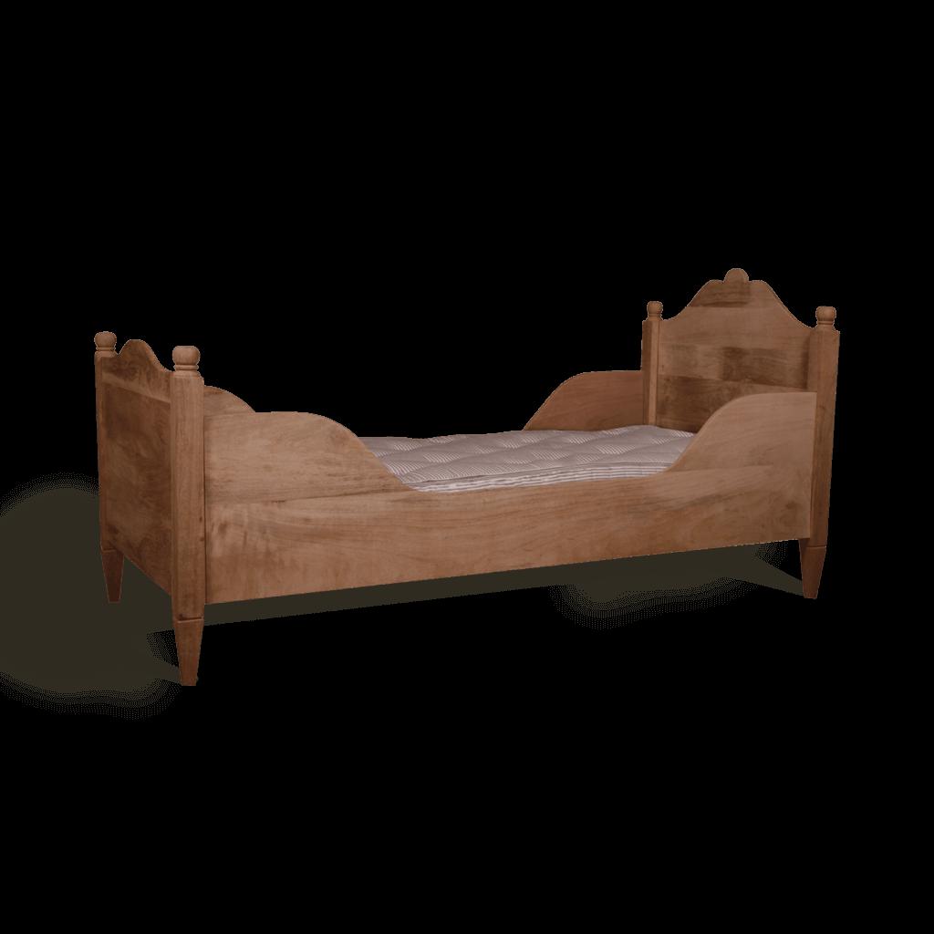 Gustavian sleigh bed single