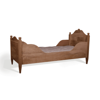 Gustavian sleigh bed single
