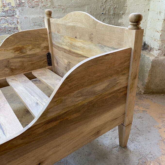 gustavian cot bed