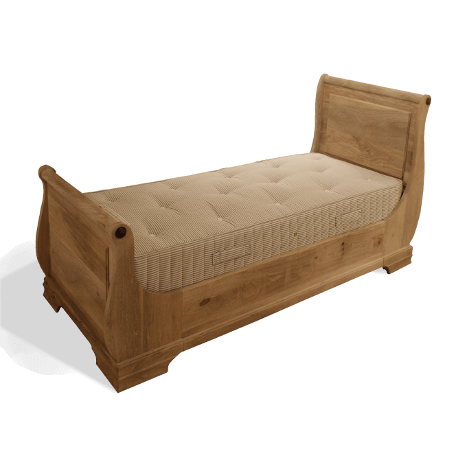Single Sleigh Bed