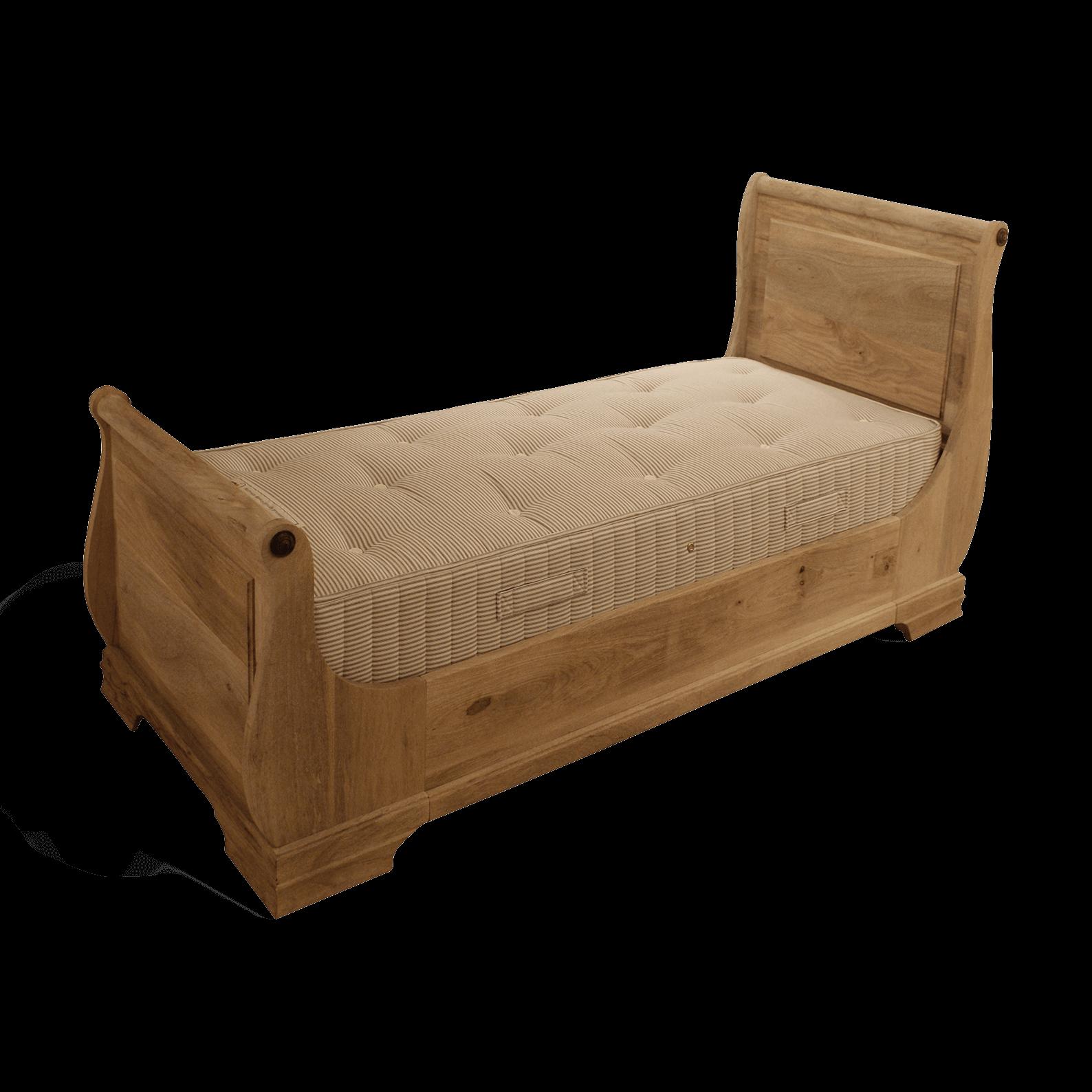 - French Sleigh Bed ~ Various Sizes (BD2) - Scumble Goosie