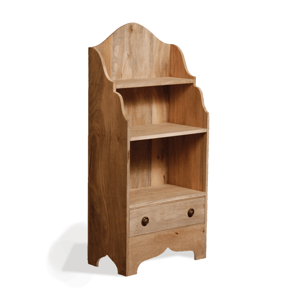 Wooden Bedside Bookcase