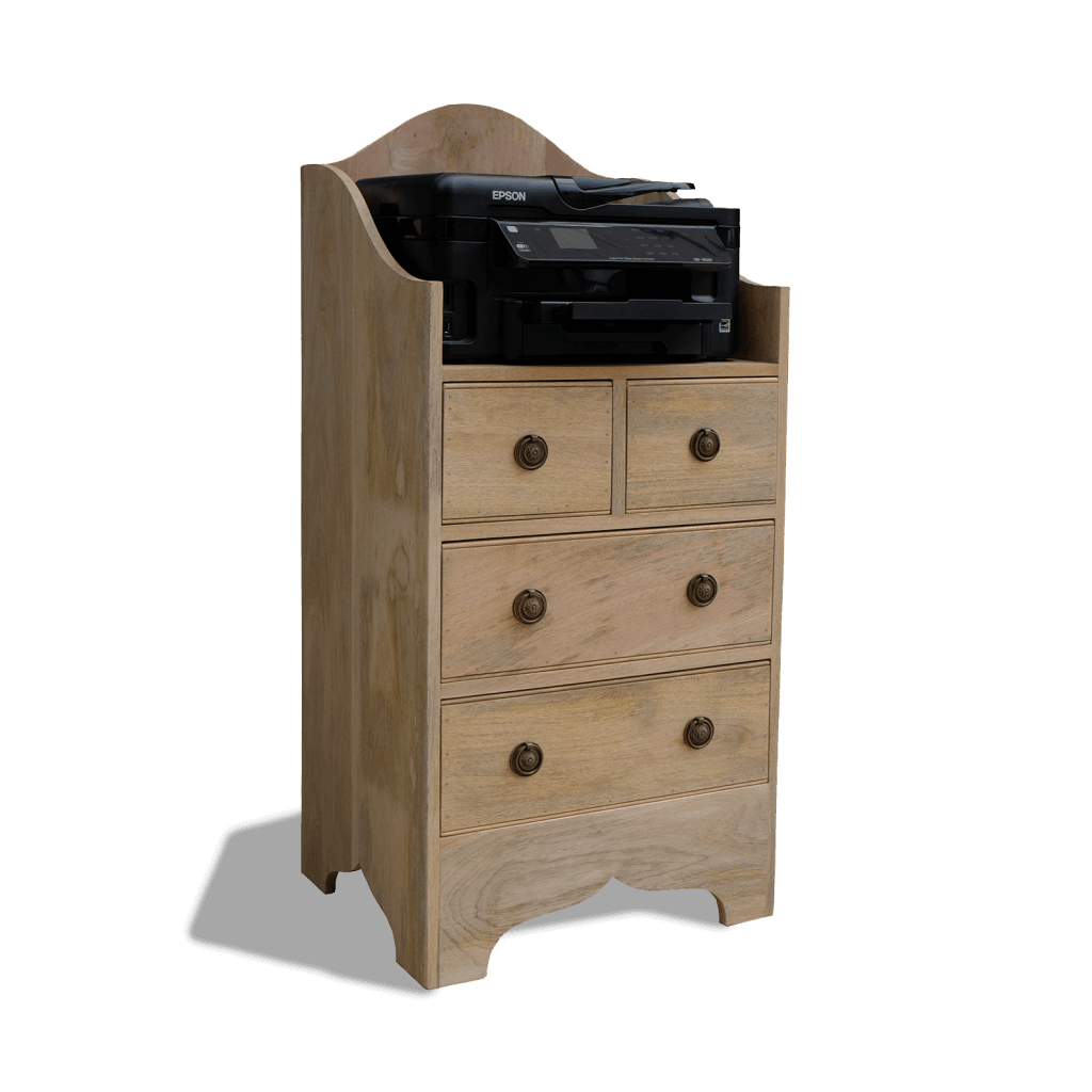 Country Office Chest of Drawers