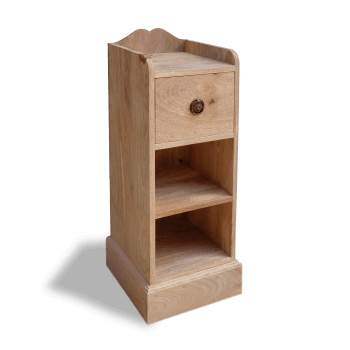 Small Wooden Bedside Bookcase