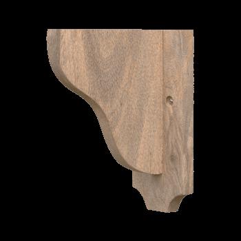 Shelf Bracket in Natural wood