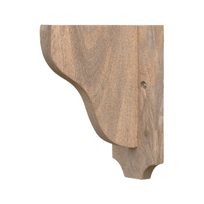 Shelf Bracket in Natural wood