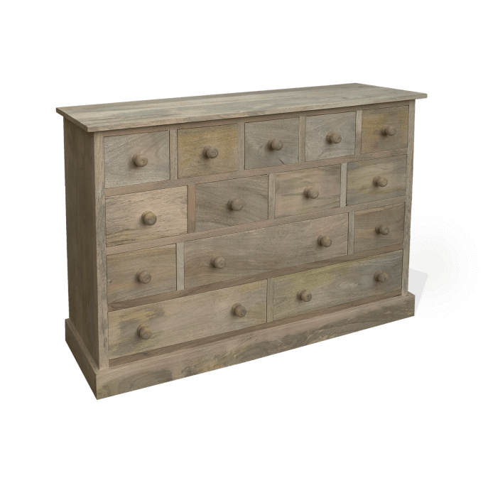 Multi Drawer wooden Chest