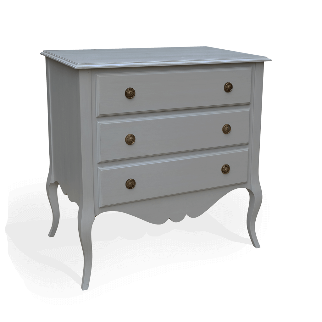 Gustavian 3 drawer chest