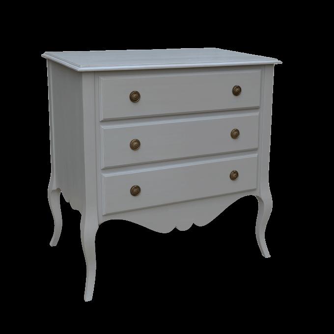 Gustavian 3 drawer chest