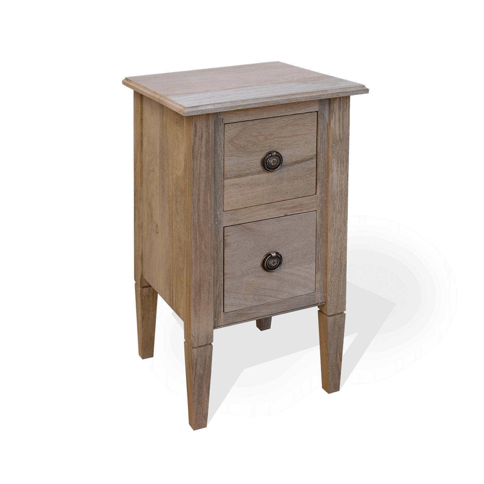 Two Drawer Empire Chest Small Scumble Goosie