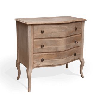 3 drawer gustavian chest