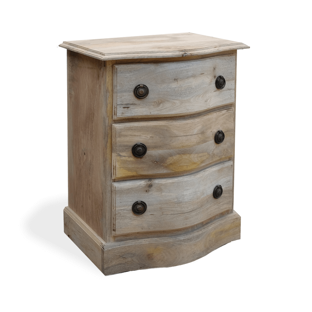 Bedside Drawers in Solid Wood