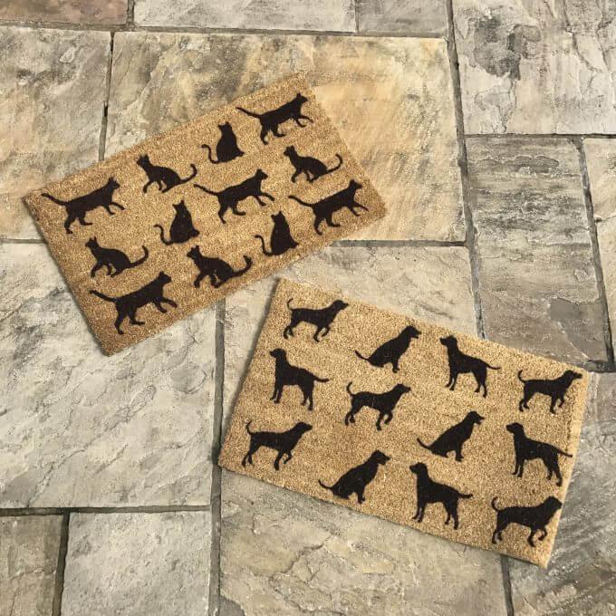 Cat or Dog Door Mat