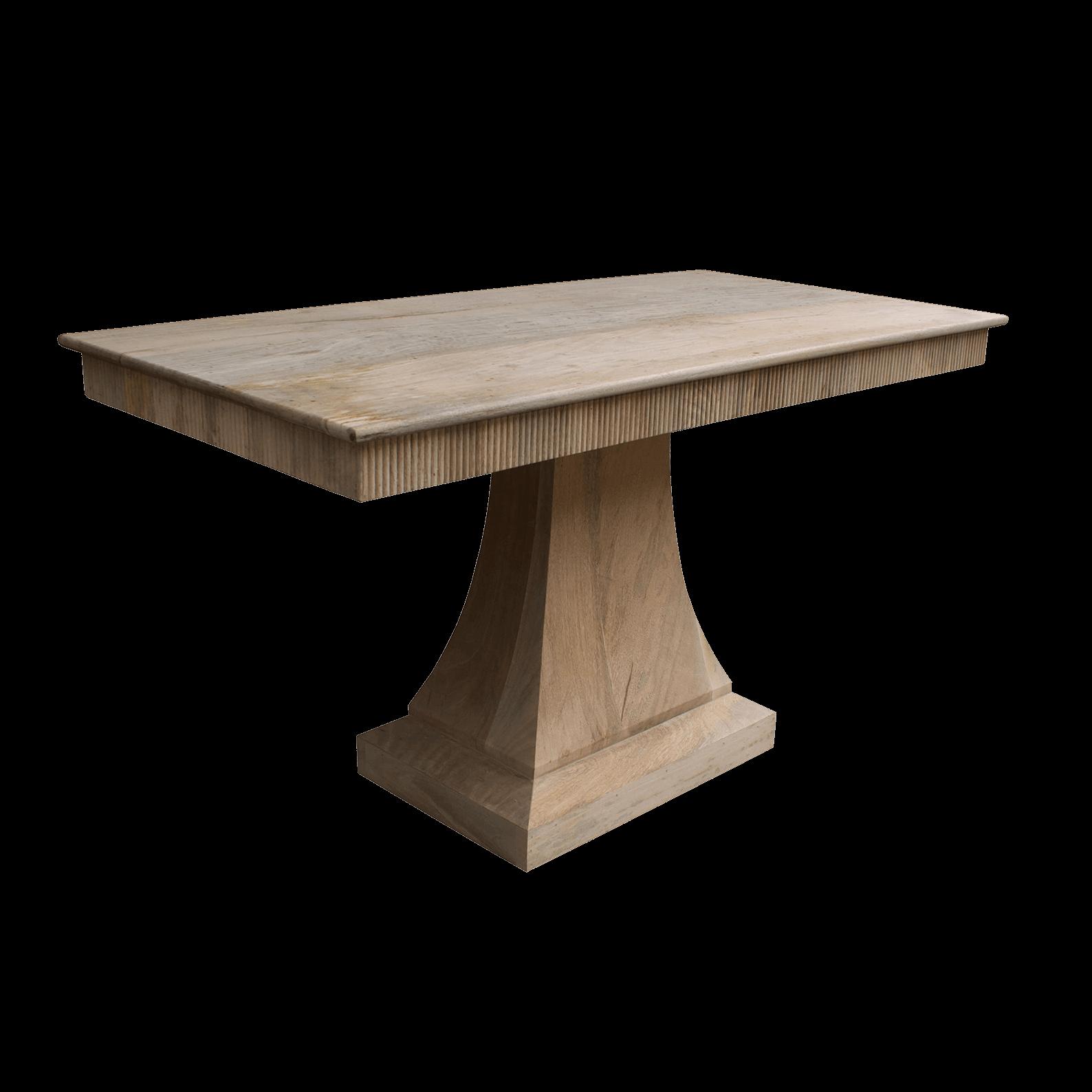 Picture of: Stockholm Pedestal Table Rectangular Dt5 Scumble Goosie