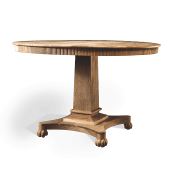 Circular Table in Solid Wood