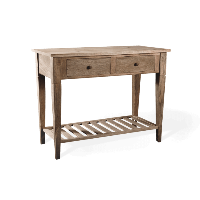 Preparation Table in Natural Wood