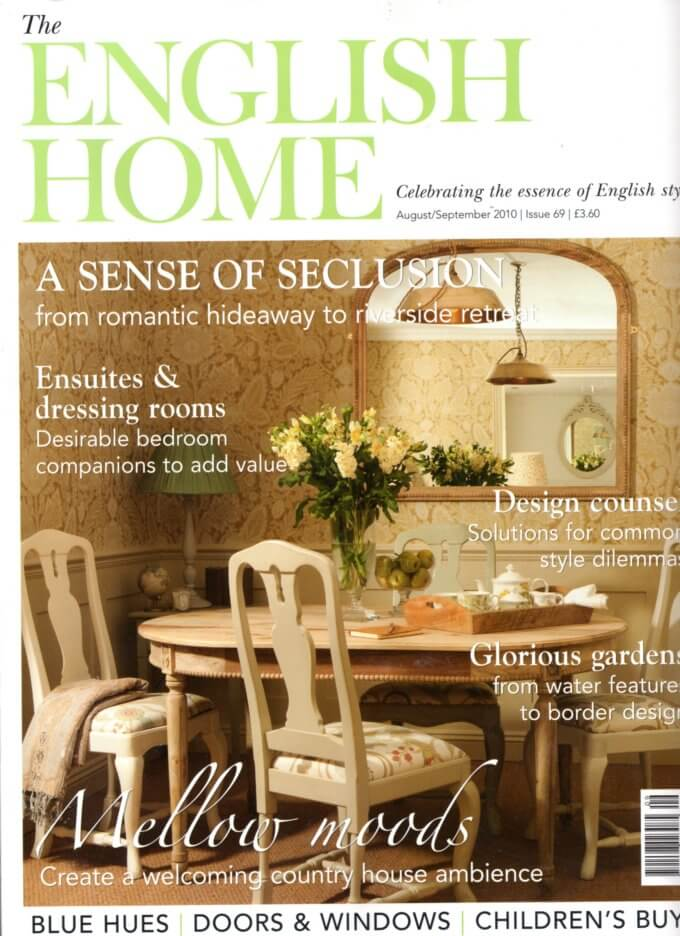 Front cover of English Home Magazine