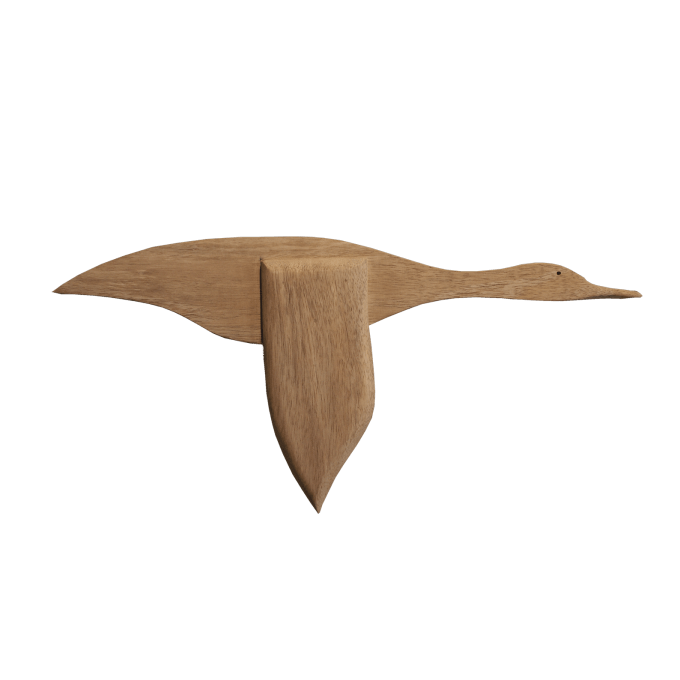 Wooden Flying Goose