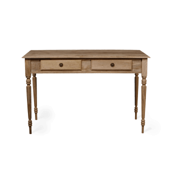 French two drawer desk