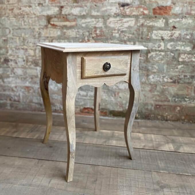 Gustavian bedside table