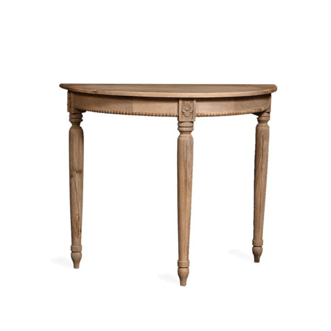 Gustavian Demi Lune Table