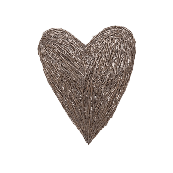 Twig Heart Outdoor Ornament