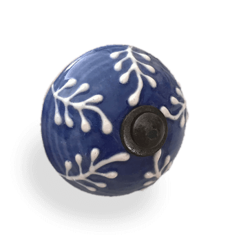 Blue & White Porcelain Knob