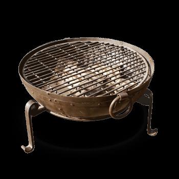 Metal Firepit Barbeque