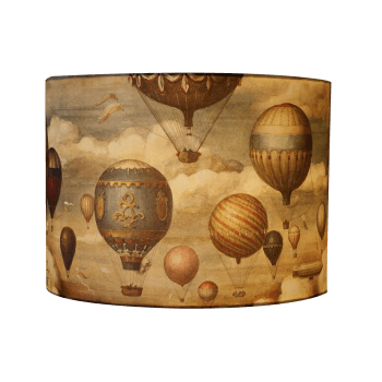 Lampshade with Hot Air Balloon Design