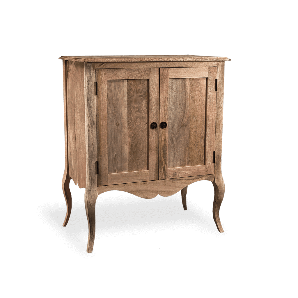 Gustavian Sideboard in Natural Wood