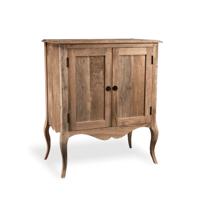 Gustavian Sideboard in Natural Wood