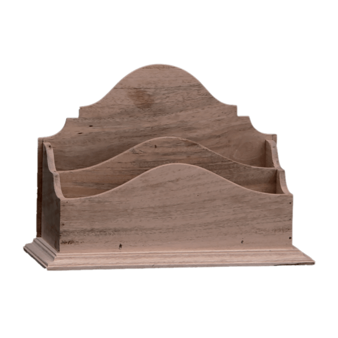 Letter Rack in Wood