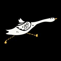 Running Goose Sketch