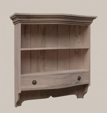 Bow Fronted Wall Cupboard