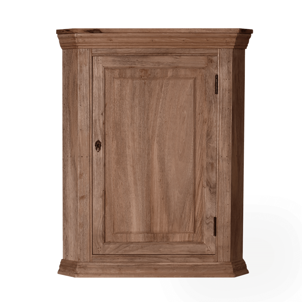 Wood Corner Cupboard