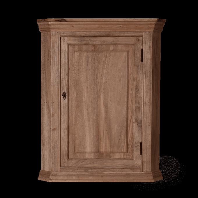 Wood Corner Cupboard