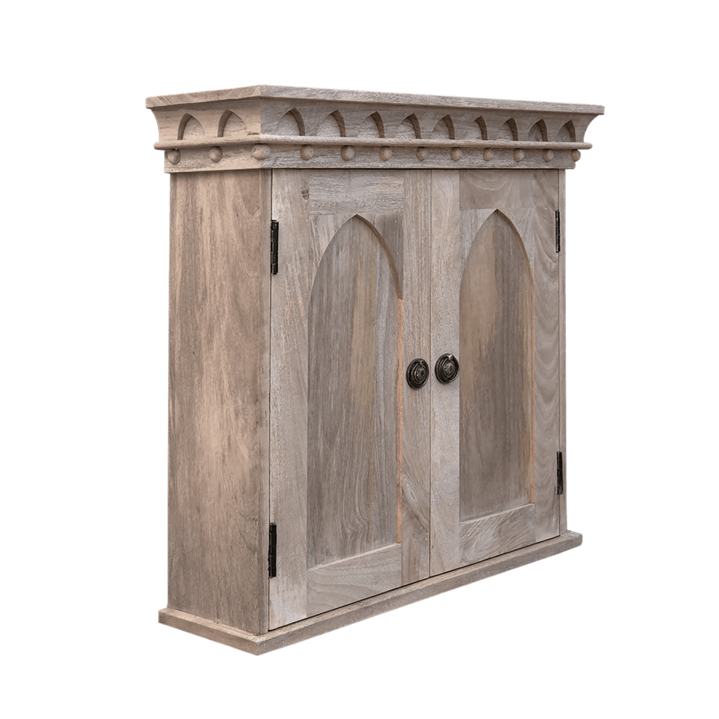 Gothic Wall Cupboard