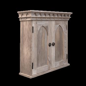 Gothic Wall Cupboard