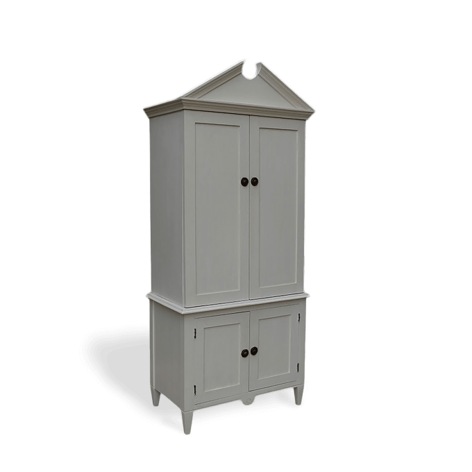 Armoire Cupboard painted in White