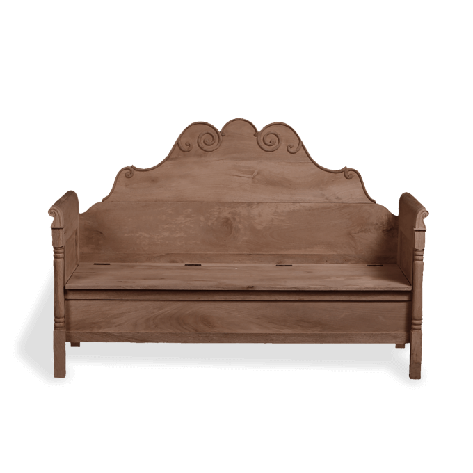 Wooden Sofa Bench in Wood