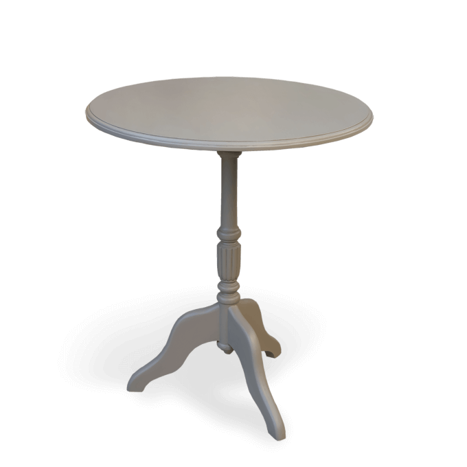 small painted wine table