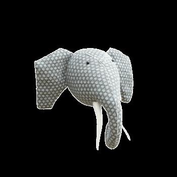 Elephant Felt Animal Head