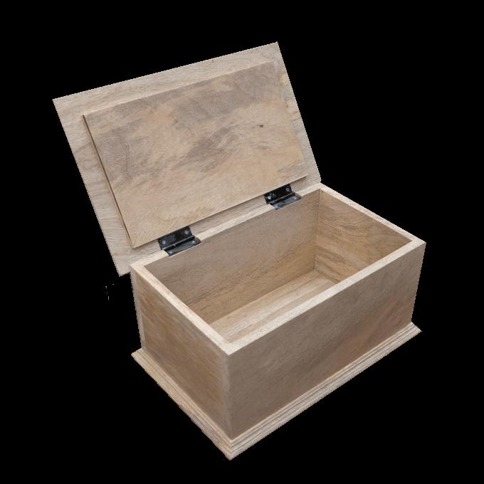 Wooden Box Open