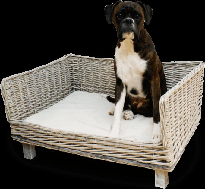 Willow Dog Basket Large