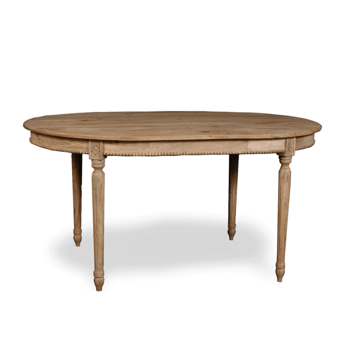 Oval Pearl Dining Table