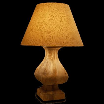 Baluster Lamp Base & Shade
