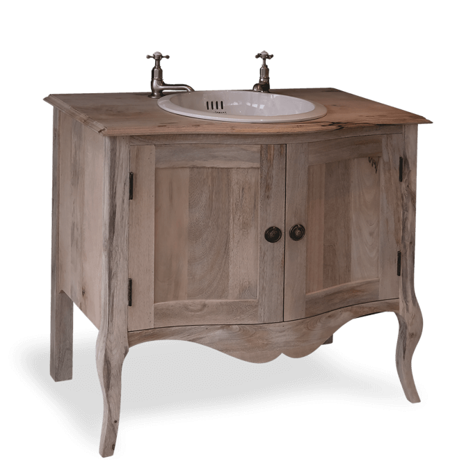 Bow Fronted Washstand