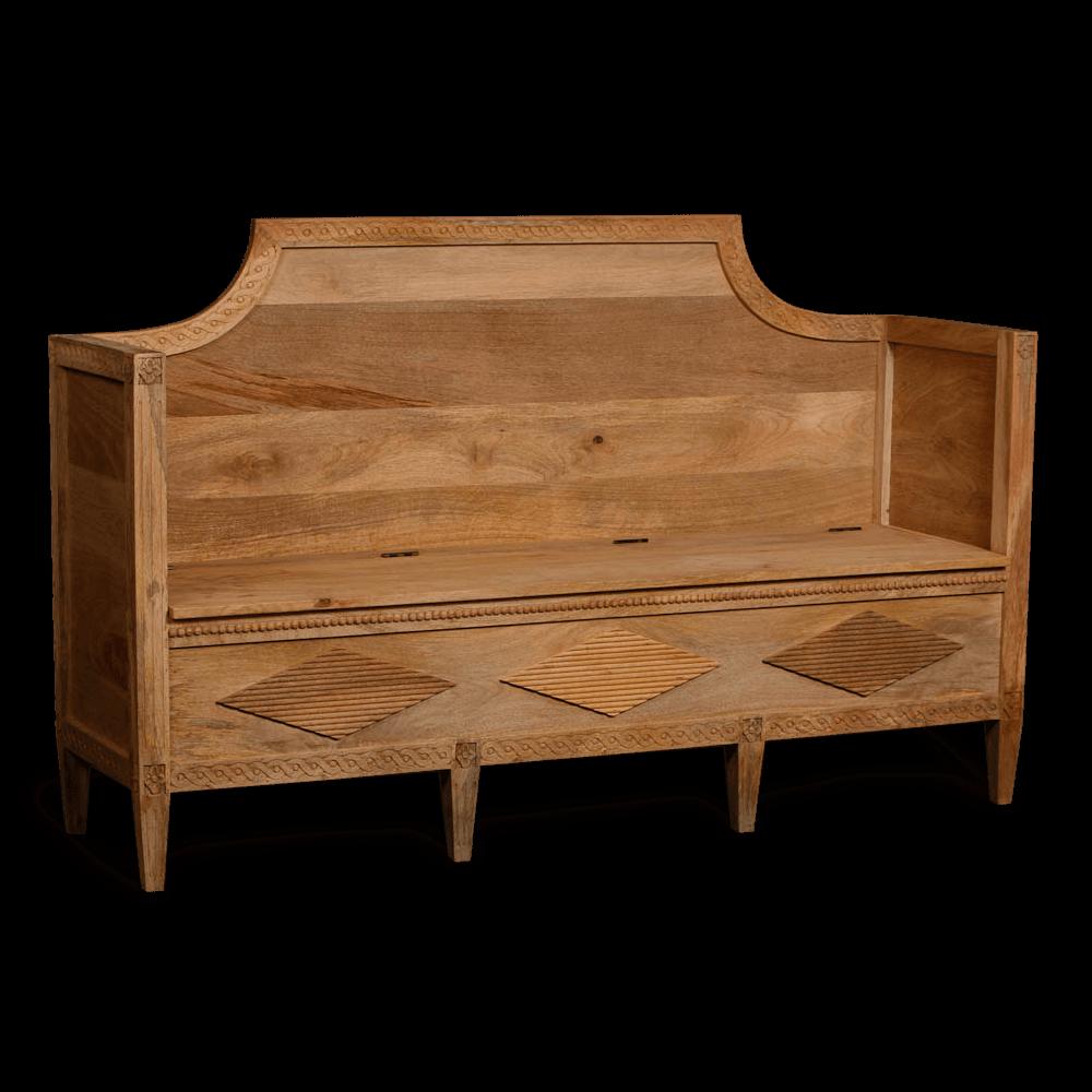 Nordic Wooden Sofa