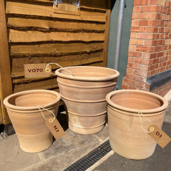 cretan garden pots