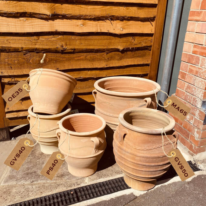 Cretan Outdoor Garden Pots